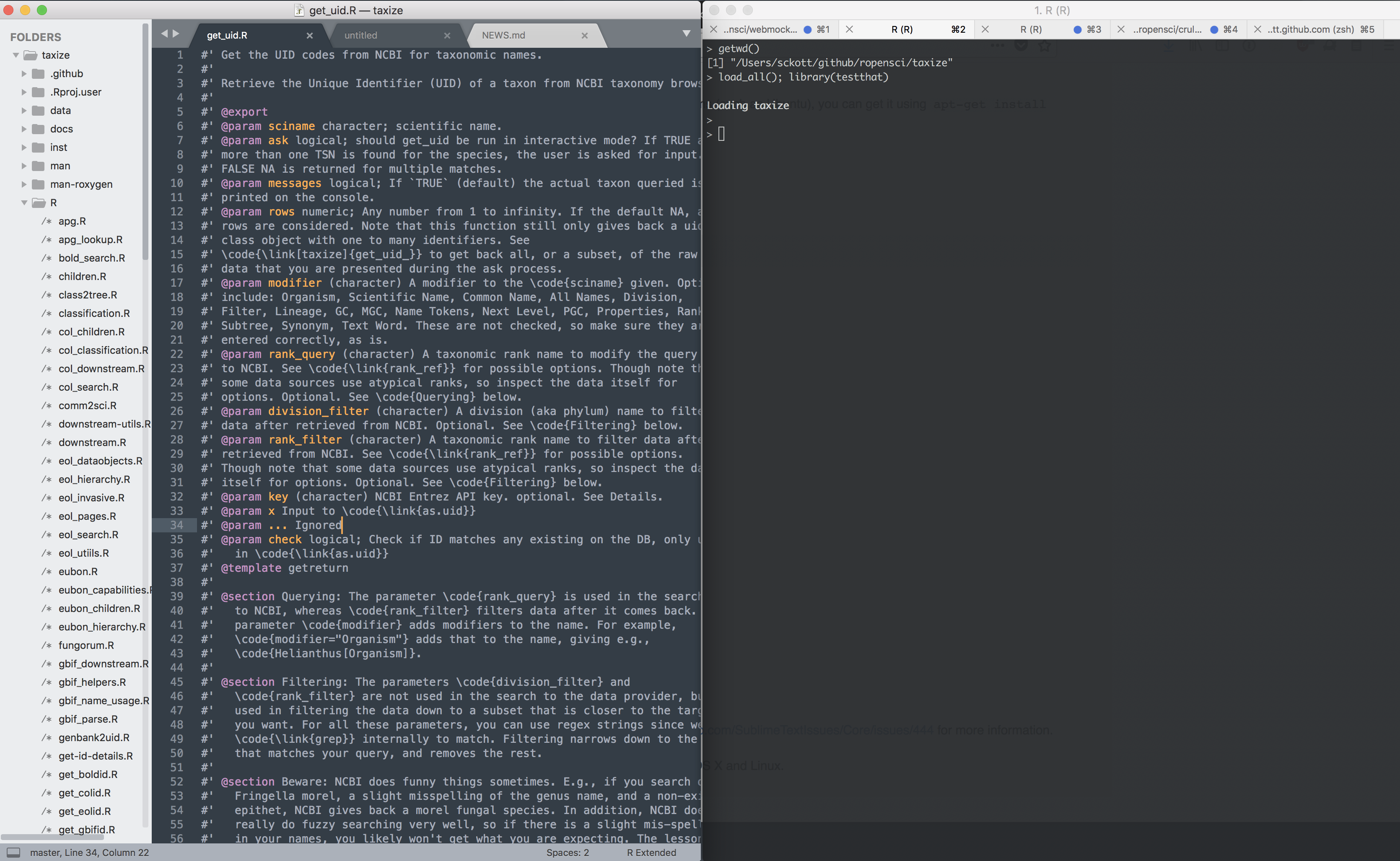My Sublime Text workflow/setup